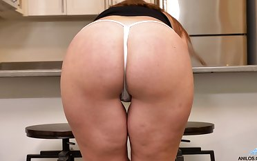 That cougar is well worth a wank or two and her ass is quite edible
