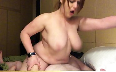 Big beautiful busty brunette BBW
