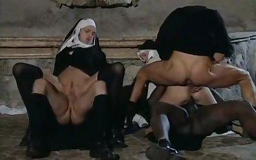 Nuns Group Sex Flick - Retro Porn
