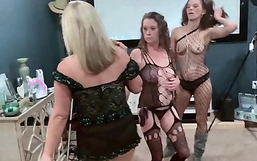 Wound up amateur sluts win hard fucked from behind in bring about dealings