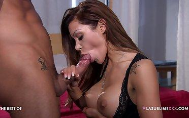 Pornstar Elena Grimaldi loves shooting anal lovemaking scenes with this man