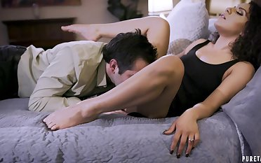 Seductive chick kingdom endless load of shit in both will not hear of holes