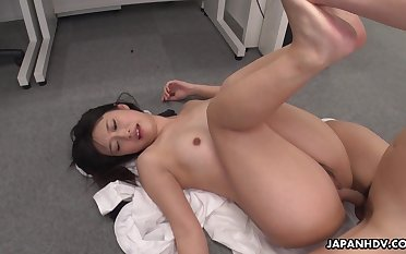 Hot Asian girl Tomomi Motozawa loves some mish enjoyment from and she's got a nice ass