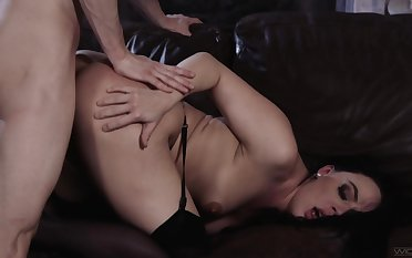 Erotic couch sexual congress for the strapped wife research she tastes the dong