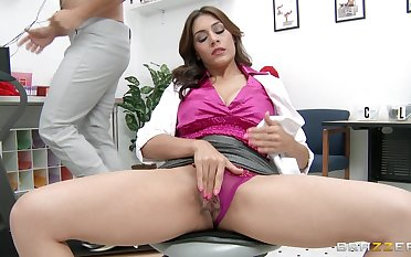 Big dick destroys pussy and tight aggravation of mature pornstar Raylene