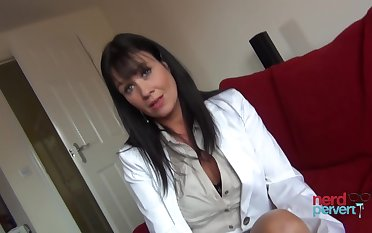 Elise Terrze is a milf who loves to suck dick on camera