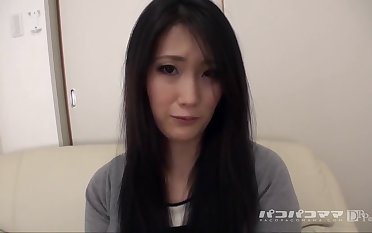 Naomi Sugawara Dusky Wife Who Wants To Ambiance In The Uterus Appealing For Vaginal Cum Shot
