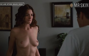 Anne Hathaway bares their way great heart of hearts in Hollywood's most erotic scene