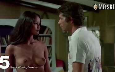 Susan George and other naked celebs in one compilation
