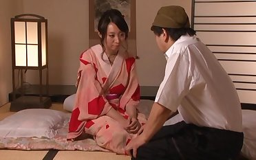 Smooth fucking on the floor with trimmed pussy Japanese Wakako Yamada