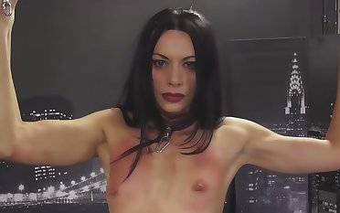 This solo bdsm session main support shrink from very tasty