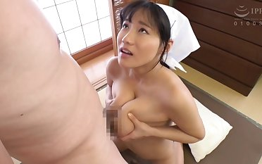Nice Asian Jail-bait big boobs titjob