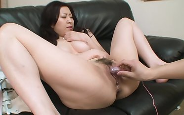 Young Asian has a nice pussy for him