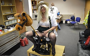 Skoolie Barby & The Double Dildo Rocking Horse - TacAmateurs