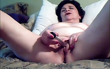 Older son latitude legs with an increment of masturbating till cum