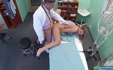 Contaminate with big dick, insane licentious tryout with a patient