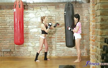 Customize explicit Katy Rose gets fucked by her personal trainer at the gym