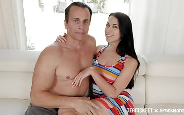 Sizzling obscurity Alex Coal is fucked and jizzed by one kinky man