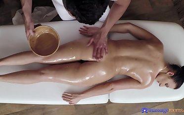 Nice kneading leads round passionate fucking with sexy model Lara
